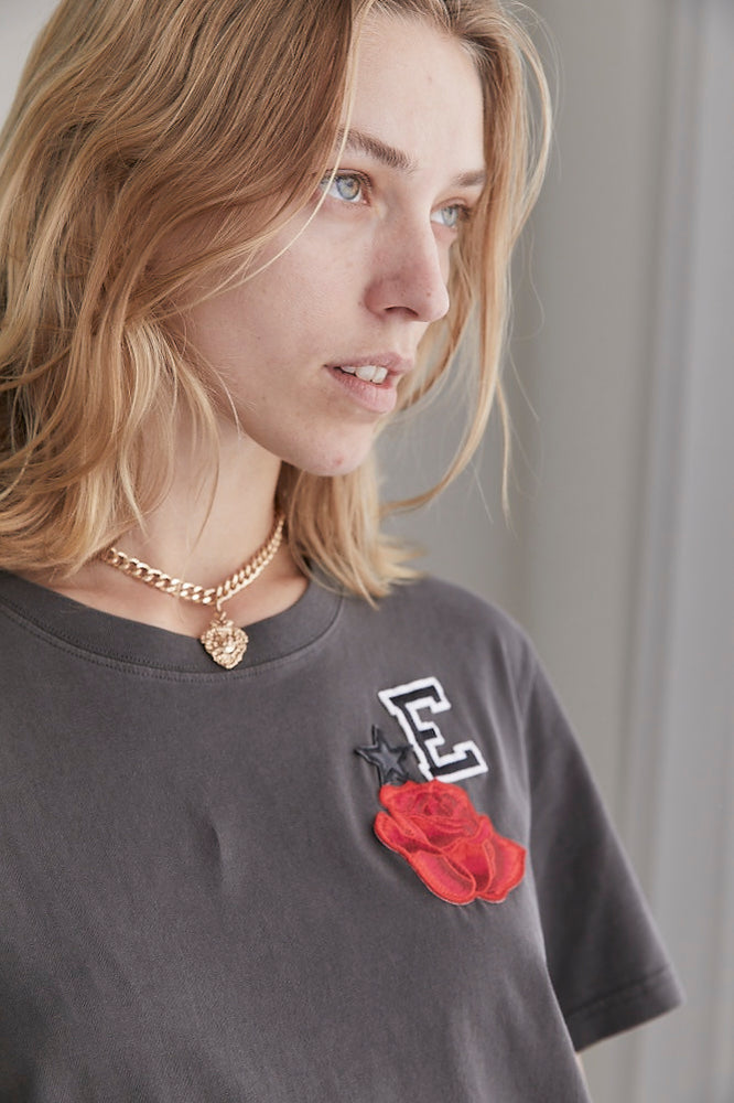 The Rose & Leather Star T-Shirt