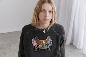 The Elvie USA Flag Sweat