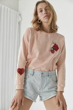 The Peaches & Cream Sweat