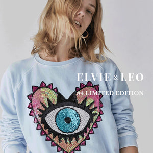 The Elvie Eye Acid Wash Sweat