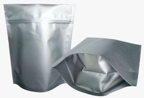 Mylar bag 2 liters (22x30 cm) Standing bag with ziplock, 10 pack