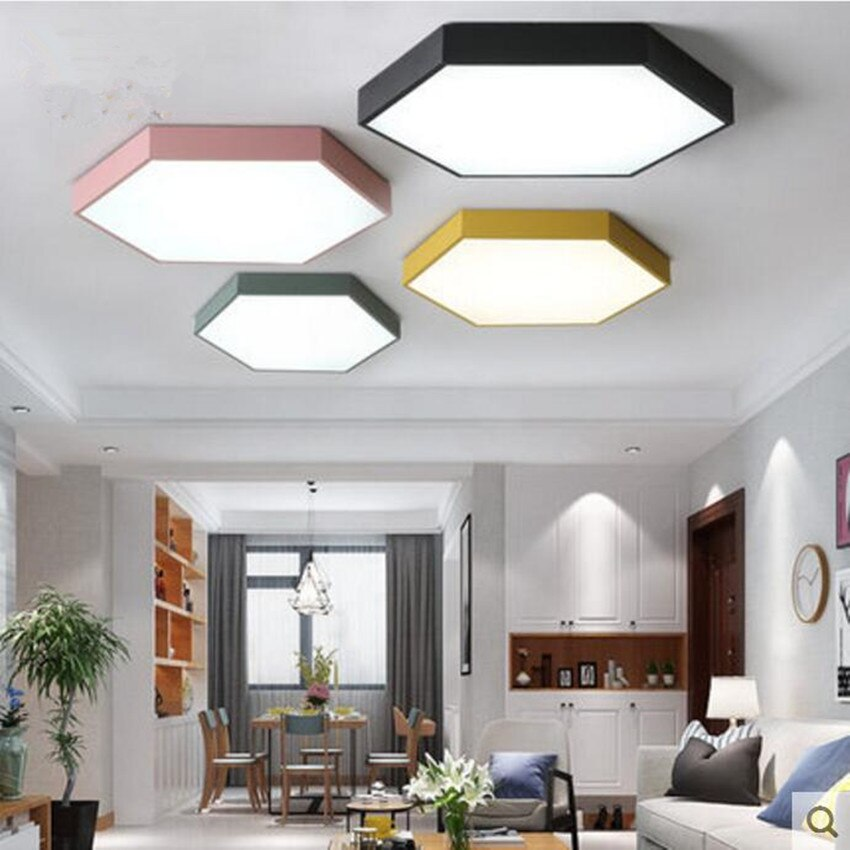 ParadiseDecor Hexagon Ceiling Lamp