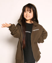 Load image into Gallery viewer, KANGOL KIDS 縦ロゴZIPパーカー(50%OFF)