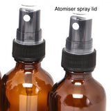 Atomiser spray lid for Beard oil, balm and wash combination package by BaldyBeardy