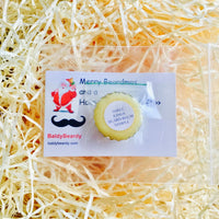 BaldyBeardy Christmas beard balm sample pack
