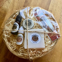 Beard grooming, care and maintenance gift basket by BaldyBeardy