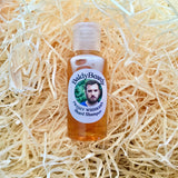 Beard wash with flip top lid by BaldyBeardy