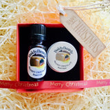 Brandy Chocolate Christmas gift box by BaldyBeardy with dropper lid