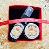 Christmas Spice Christmas gift box by BaldyBeardy with atomiser spray lid