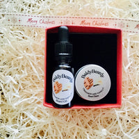 Cinnamon and Vanilla Christmas gift box by BaldyBeardy with pipette lid