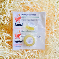 Christmas beard oil and balm sample pack - 1 oil and 1 balm