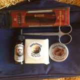 Beard trimming, grooming and maintenance travel kit by BaldyBeardy