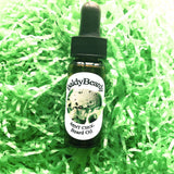 Mint Choc beard oil by BaldyBeardy with pipette lid