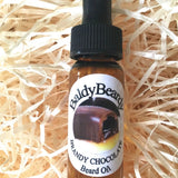 Brandy Chocolate beard oil with pipette lid by BaldyBeardy