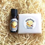 Citrus Burst beard oil and soap combination pack by BaldyBeardy