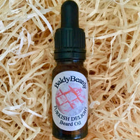 Turkish Delight beard oil by BaldyBeardy with pipette lid