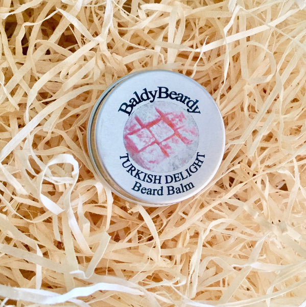 Turkish Delight beard balm by BaldyBeardy
