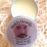Bart Randolph - Medium strength moustache wax by BaldyBeardy