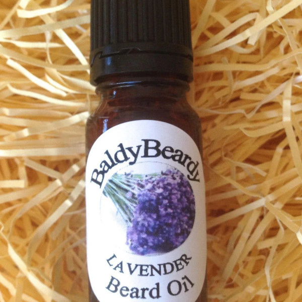 Lavender beard oil by BaldyBeardy