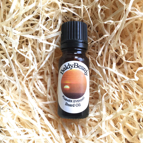Summer Evening beard oil by BaldyBeardy