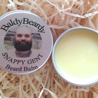 Snappy Gent beard balm by BaldyBeardy