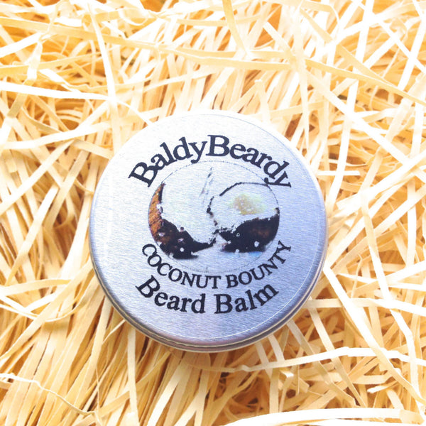 Coconut Bounty beard balm by BaldyBeardy