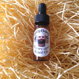 Snappy Gent beard oil by BaldyBeardy with pipette lid