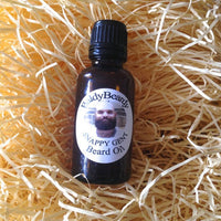 Snappy Gent beard oil by BaldyBeardy with dropper lid