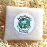 Tea Tree and Eucalyptus beard soap by BaldyBeardy
