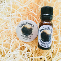 Lumberjack beard oil and balm combination pack by BaldyBeardy