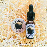 Lumberjack beard oil and balm combination pack by BaldyBeardy with pipette lid