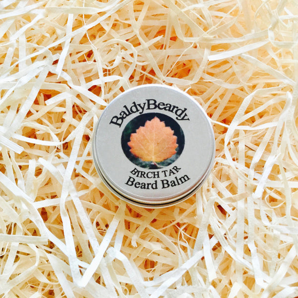 Birch Tar beard balm by BaldyBeardy