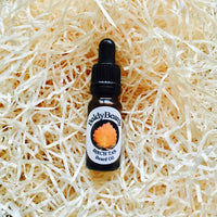 Birch Tar beard oil with pipette lid