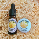 Gingerbread oil and balm combination pack by BaldyBeardy with pipette lid