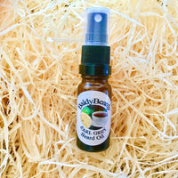 Earl Grey beard oil by BaldyBeardy with atomiser spray lid