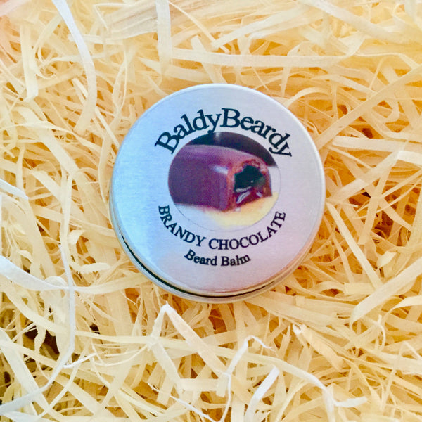 Brandy Chocolate beard balm by BaldyBeardy
