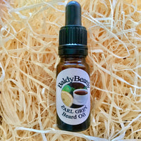 Earl Grey beard oil by BaldyBeardy with pipette lid