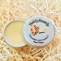 Cinnamon and Vanilla beard balm by BaldyBeardy