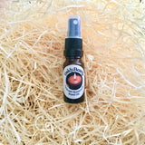 Calm and Tranquility beard oil with atomiser spray lid by BaldyBeardy