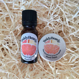Pink Grapefruit and Black Pepper beard oil and balm combination pack by BaldyBeardy