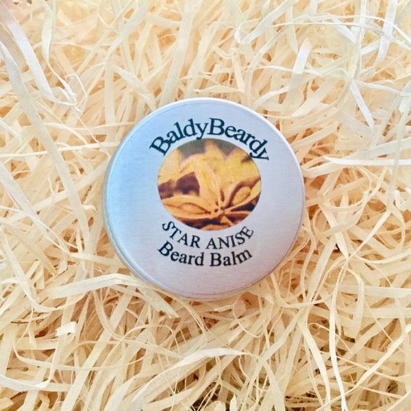 Star Anise beard balm by BaldyBeardy