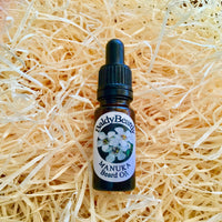 Manuka beard oil by BaldyBeardy with pipette lid