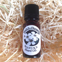 Manuka beard oil by BaldyBeardy