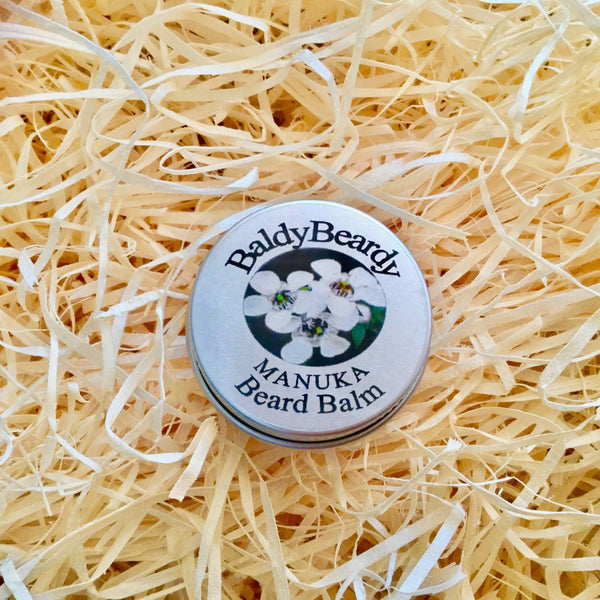Manuka beard balm by BaldyBeardy