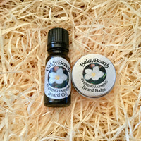 Evening Jasmine beard oil and balm combination pack by BaldyBeardy