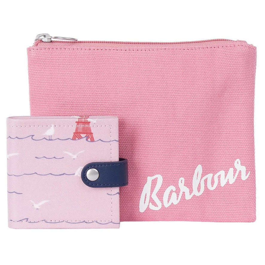 Barbour Coastal Travel Set - Blusher