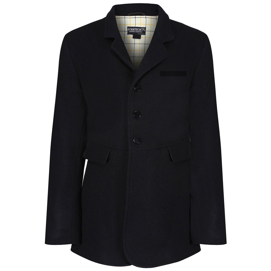 Equetech Men's Hunt Wool Frock Coat - Black
