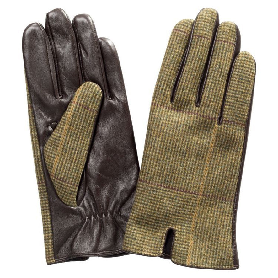 Alan Paine Ladies Combrook Tweed Glove - Heather