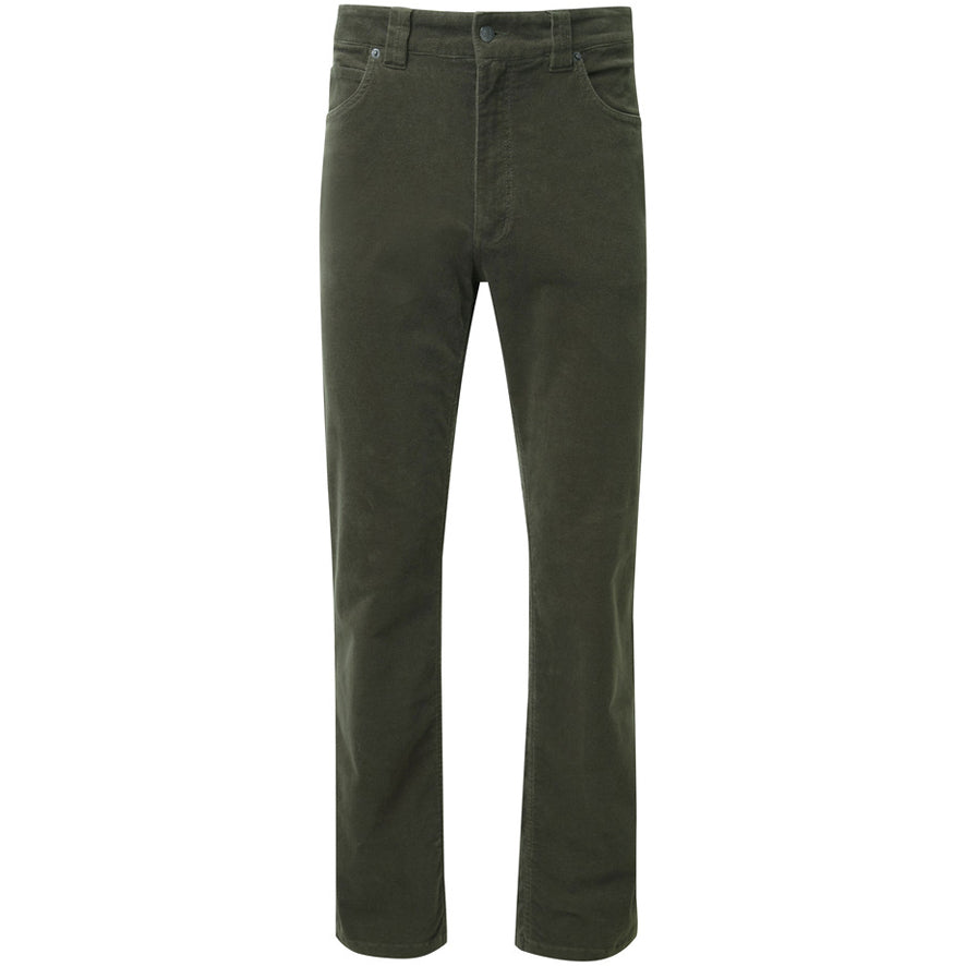 Schoffel Canterbury Cord Jeans - Forest Green