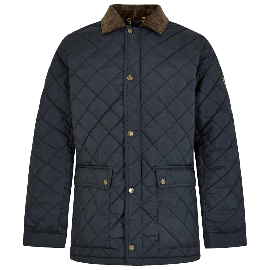 Dubarry Mens Adare Quilted Jacket - Navy